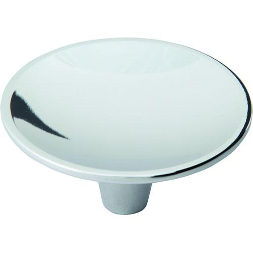 Atlas Homewares AT-233-CH  Dap Modern Polished Chrome Round Knob - KnobDepot.com