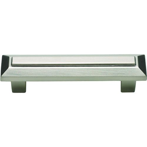Atlas Homewares AT-241-BRN  Trocadero Brushed Nickel Standard Pull - KnobDepot.com