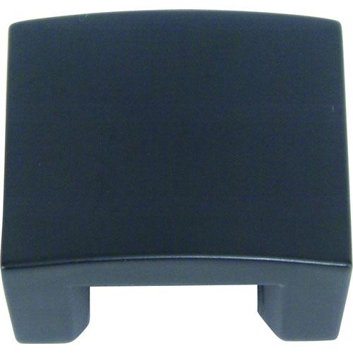 Atlas Homewares AT-254-BL  Centinel Black Square Knob - Knob Depot