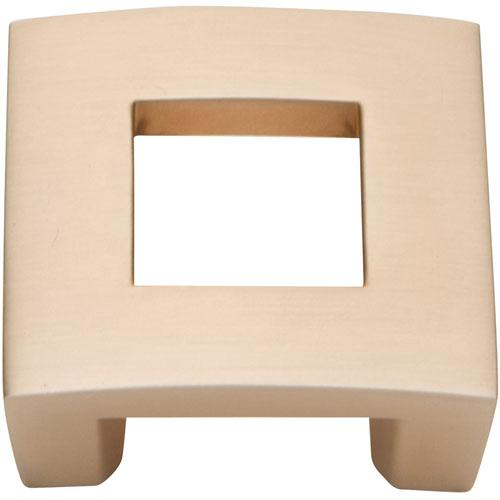 Atlas Homewares AT-255-CM  Centinel Champagne Square Knob - KnobDepot.com