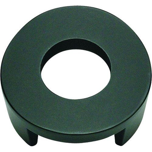 Atlas Homewares AT-268-BL  Centinel Black Round Knob - KnobDepot.com