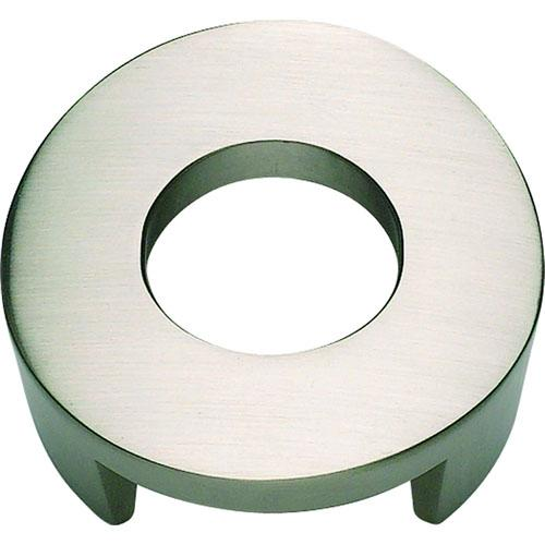 Atlas Homewares AT-268-BRN  Centinel Brushed Nickel Round Knob - KnobDepot.com