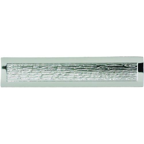 Atlas Homewares AT-271-CH  Primitive Polished Chrome Standard Pull - KnobDepot.com