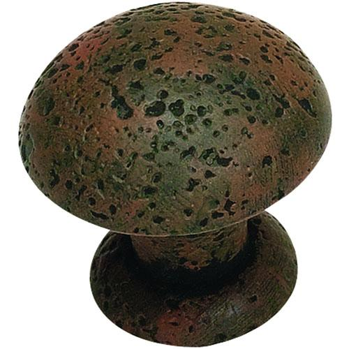 Atlas Homewares AT-272-R  Olde World Rust Round Knob - Knob Depot