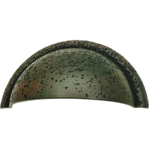 Atlas Homewares AT-274-R  Olde World Rust Cup Pull - KnobDepot.com