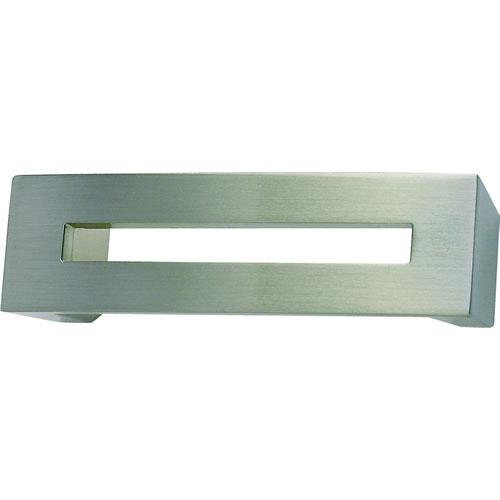 Atlas Homewares AT-275-BRN  Centinel Brushed Nickel Standard Pull - KnobDepot.com