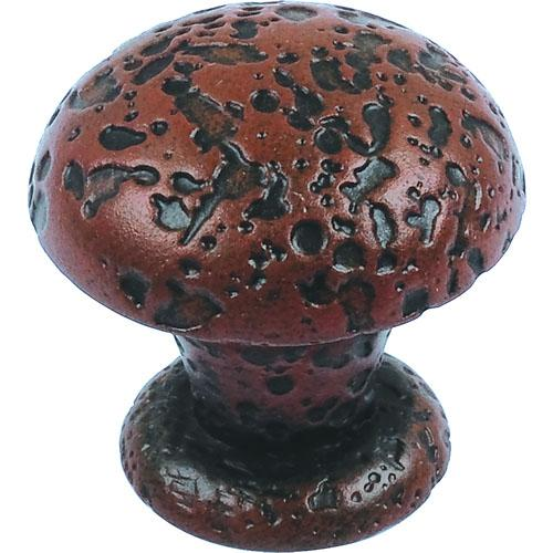 Atlas Homewares AT-286-R  Olde World Rust Round Knob - KnobDepot.com