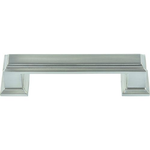 Atlas Homewares AT-291-BRN  Sutton Place Brushed Nickel Standard Pull - KnobDepot.com