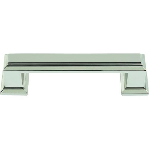 Atlas Homewares AT-291-PN  Sutton Place Polished Nickel Standard Pull - KnobDepot.com