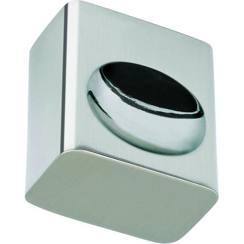 Atlas Homewares AT-294-BRN  Element Brushed Nickel Rectangular Knob - KnobDepot.com