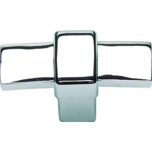 Atlas Homewares AT-301-CH  Buckle Up Polished Chrome T-Knob - Knob Depot