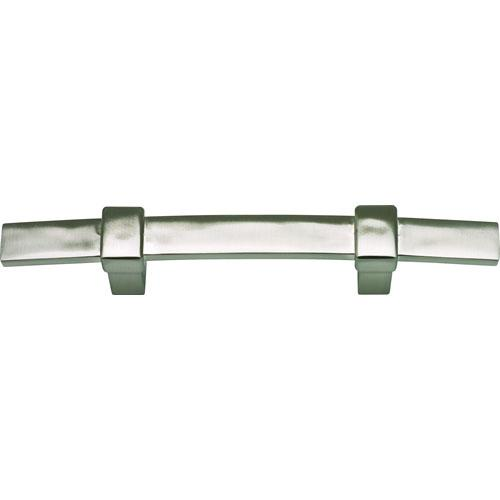 Atlas Homewares AT-302-BRN  Buckle Up Brushed Nickel Standard Pull - Knob Depot