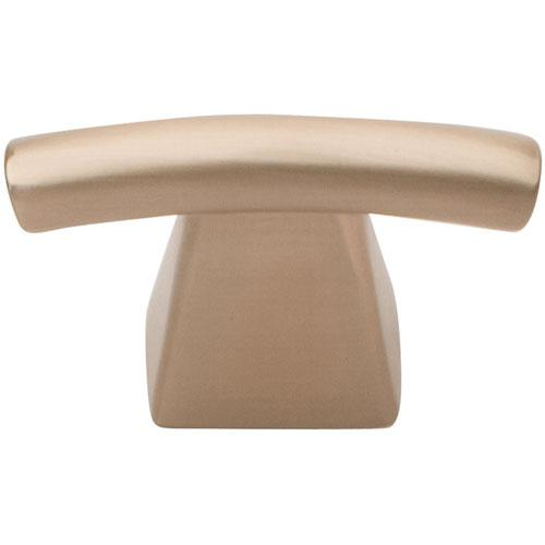 Atlas Homewares AT-305-CM  Fulcrum Champagne T-Knob - Knob Depot