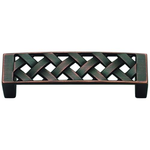 Atlas Homewares AT-310-VB  Lattice Venetian Bronze Standard Pull - KnobDepot.com