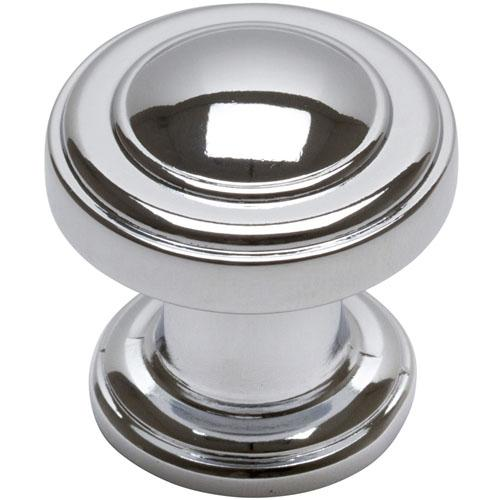 Atlas Homewares AT-313-CH  Bronte Polished Chrome Round Knob - KnobDepot.com