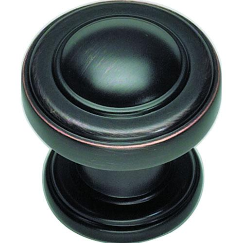 Atlas Homewares AT-313-VB  Bronte Venetian Bronze Round Knob - KnobDepot.com