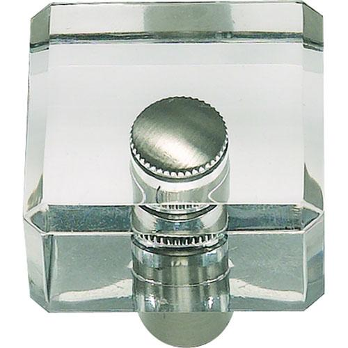 Atlas Homewares AT-3145-BRN  Optimism Brushed Nickel Square Knob - KnobDepot.com