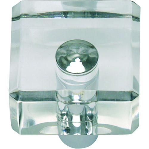 Atlas Homewares AT-3145-CH  Optimism Polished Chrome Square Knob - KnobDepot.com