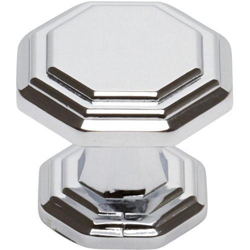 Atlas Homewares AT-319-CH  Dickinson Polished Chrome Octagon Knob - Knob Depot