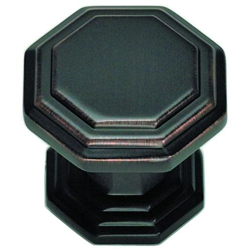 Atlas Homewares AT-319-VB  Dickinson Venetian Bronze Octagon Knob - Knob Depot