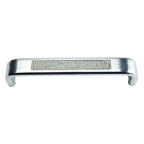 Atlas Homewares AT-3199-MC  Boutique Crystal Matte Chrome Standard Pull - KnobDepot.com