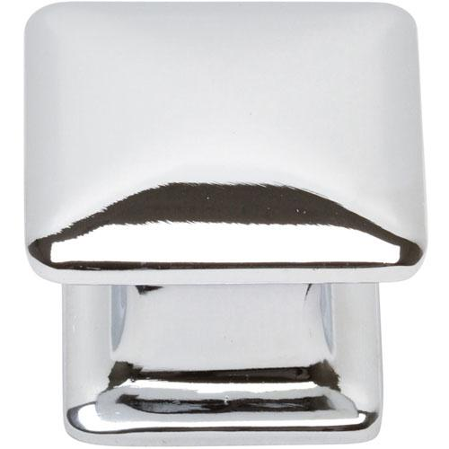 Atlas Homewares AT-322-CH  Alcott Polished Chrome Square Knob - Knob Depot