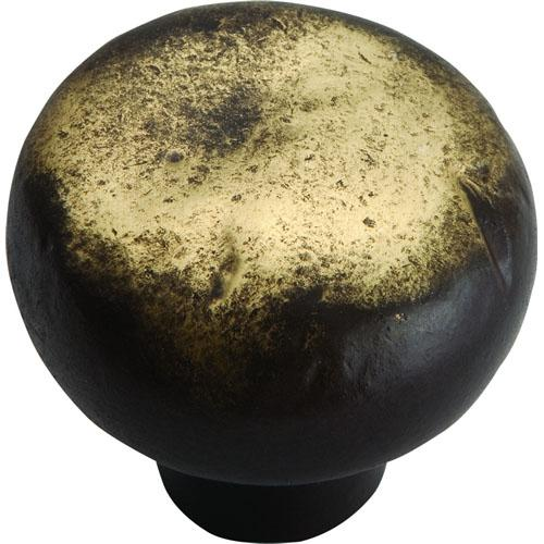 Atlas Homewares AT-331-ABZ  Distressed Antique Bronze Round Knob - KnobDepot.com
