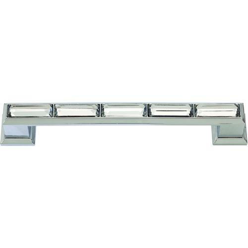 Atlas Homewares AT-342-CH  Legacy Crystal Polished Chrome Standard Pull - Knob Depot