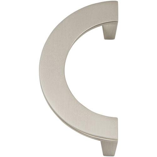 Atlas Homewares AT-354-BRN  Roundabout Brushed Nickel Standard Pull - Knob Depot