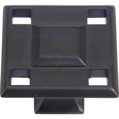 Atlas Homewares AT-4007-O  Modern Craftsman Aged Bronze Square Knob - KnobDepot.com