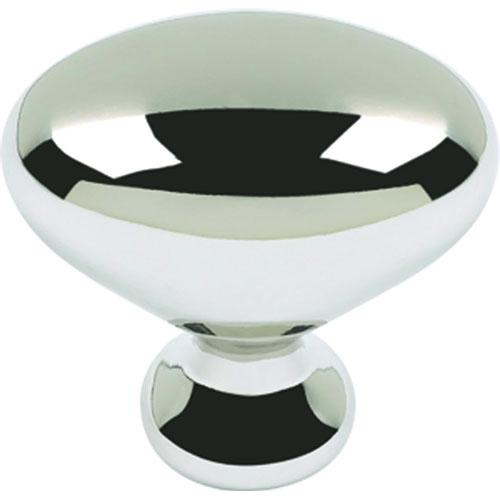 Atlas Homewares AT-A804-PN  Successi Polished Nickel Large Knob - Knob Depot