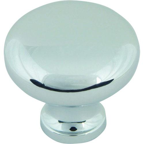Atlas Homewares AT-A819-CH  Successi Polished Chrome Round Knob - KnobDepot.com