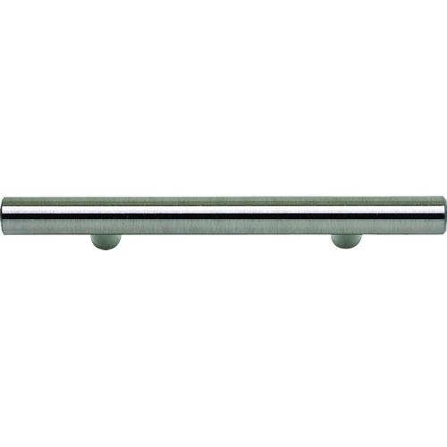 Atlas Homewares AT-A837-BS  Successi Brushed Steel Bar Pull - KnobDepot.com