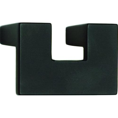 Atlas Homewares AT-A845-BL  U-Turn Black Finger Pull - KnobDepot.com