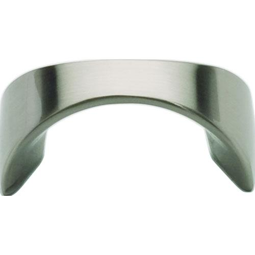 Atlas Homewares AT-A848-BN  Sleek Brushed Nickel Finger Pull - KnobDepot.com