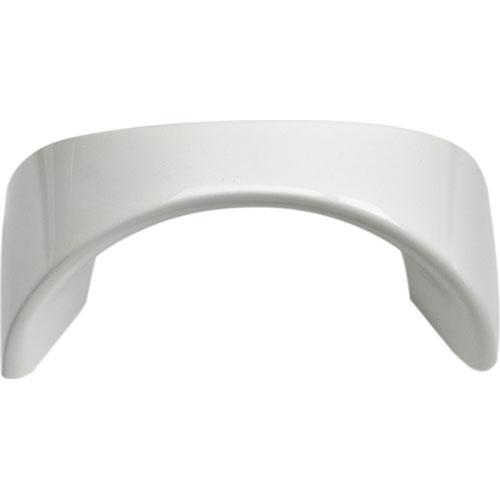 Atlas Homewares AT-A848-WG  Sleek High White Gloss Finger Pull - KnobDepot.com