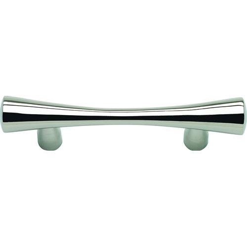 Atlas Homewares AT-A850-PS  Fluted Polished Stainless Steel Standard Pull - Knob Depot