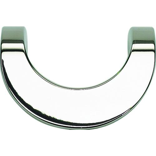 Atlas Homewares AT-A854-PS  Loop Polished Stainless Steel Finger Pull - Knob Depot
