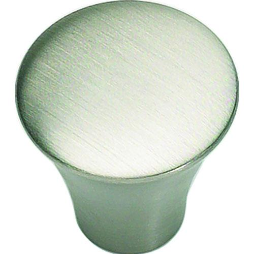 Atlas Homewares AT-A855-SS  Fluted Stainless Steel  Round Knob - KnobDepot.com