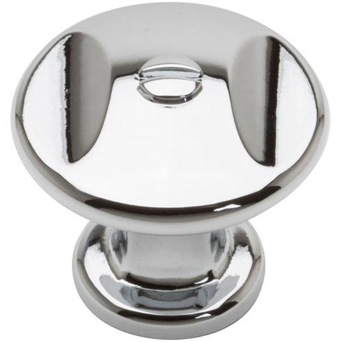 Atlas Homewares AT-A869-CH  Ergo Polished Chrome Round Knob - KnobDepot.com
