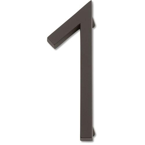 Atlas Homewares AT-AVN1-O  Avalon - Outside Hardware Aged Bronze House Number - Knob Depot