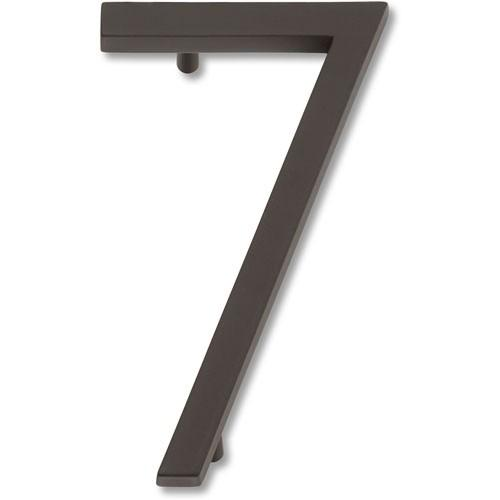 Atlas Homewares AT-AVN7-O  Avalon - Outside Hardware Aged Bronze House Number - Knob Depot