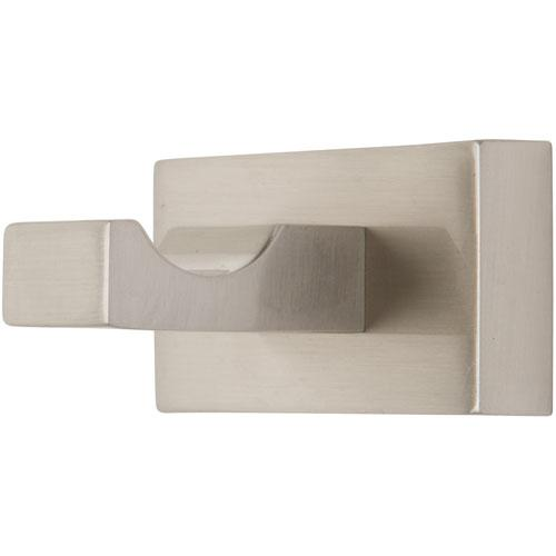 Atlas Homewares AT-AXSH-BRN  Axel - Bath Brushed Nickel Hook - KnobDepot.com