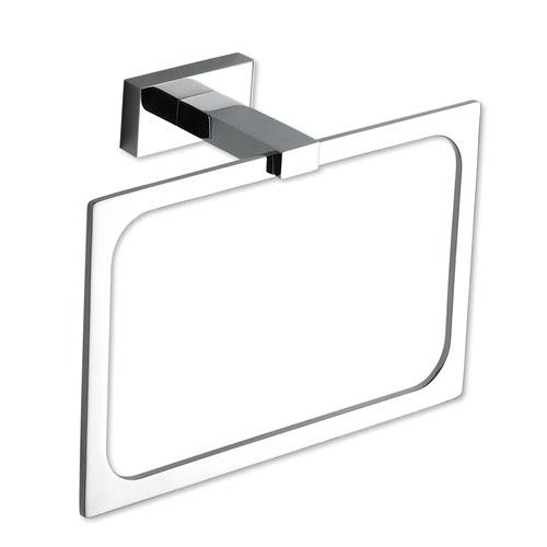 Atlas Homewares AT-AXTR-CH  Axel - Bath Polished Chrome Towel Ring - KnobDepot.com