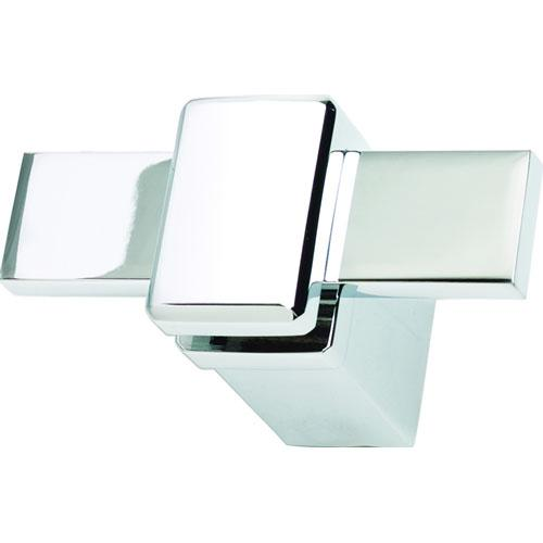 Atlas Homewares AT-BUTH-CH  Buckle Up - Bath Polished Chrome Hook - Knob Depot