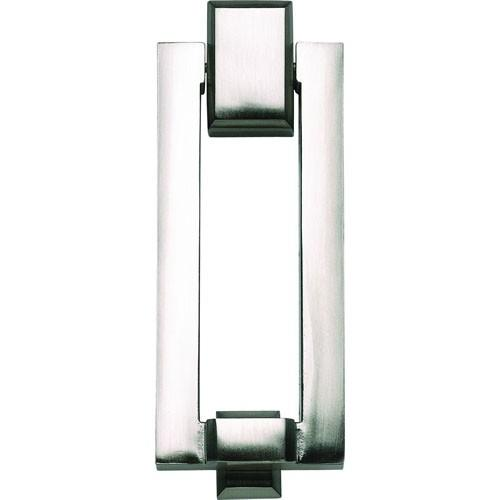 Atlas Homewares AT-DK644-BRN  Mission - Outside Hardware Brushed Nickel Door Knocker - Knob Depot