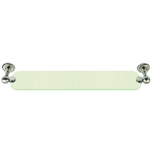Atlas Homewares AT-EMMSF-BRN Emma - Bath Brushed Nickel Shelf & Soap Dish - Knob Depot