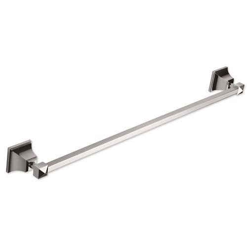 Atlas Homewares AT-GRATB600-CH  Gratitude - Bath Polished Chrome Towel Bar - Knob Depot