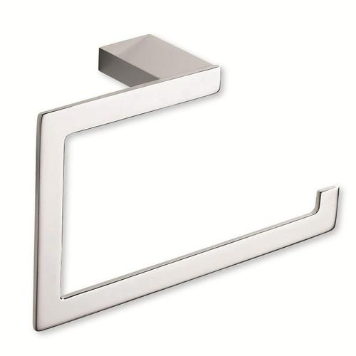 Atlas Homewares AT-PATR-CH  Parker - Bath Polished Chrome Towel Ring - KnobDepot.com