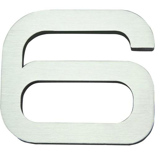 Atlas Homewares AT-PGN6-SS  Paragon - Outside Hardware Stainless Steel House Number - KnobDepot.com